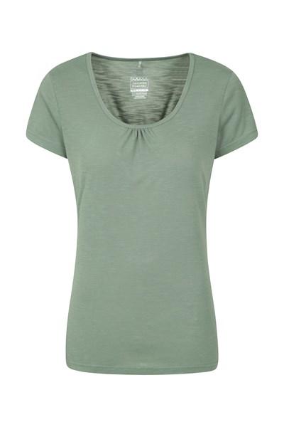 Agra Womens T-Shirt - Green