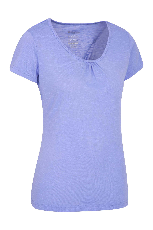 Agra Womens T-Shirt - Purple