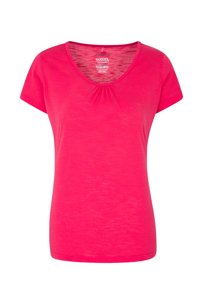 Agra Womens T-Shirt – Pink