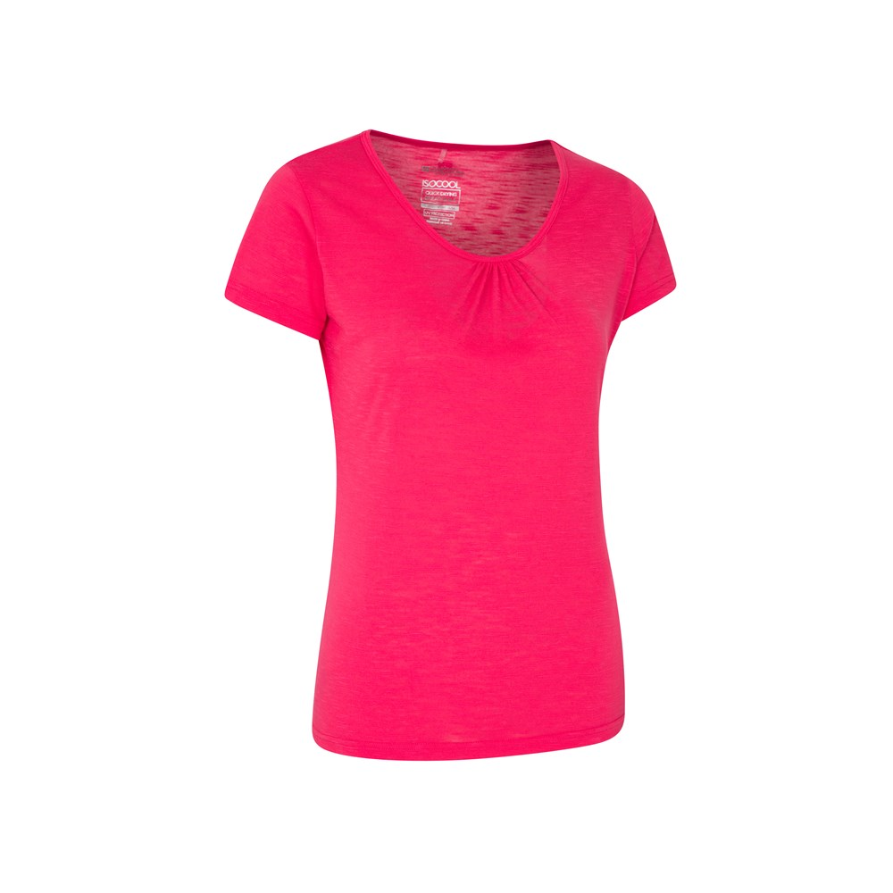 Mountain-Warehouse-T-shirt-femme-Manches-Courtes-Protection-UV-UPF30-Agra