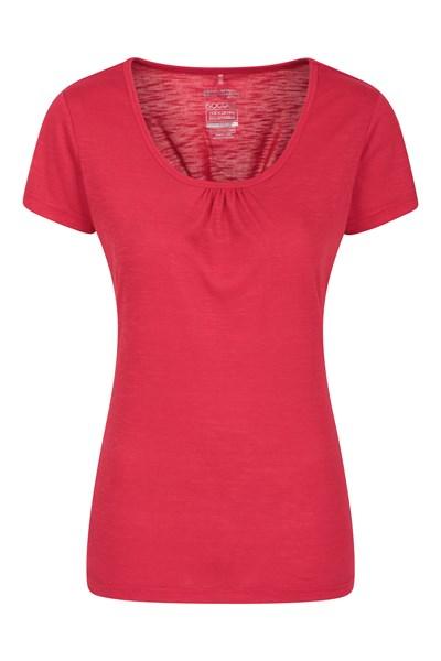 Agra Womens T-Shirt - Red