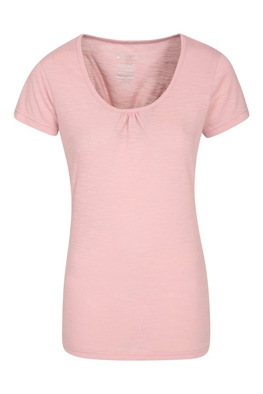 Damski T-shirt Agra  - Pink