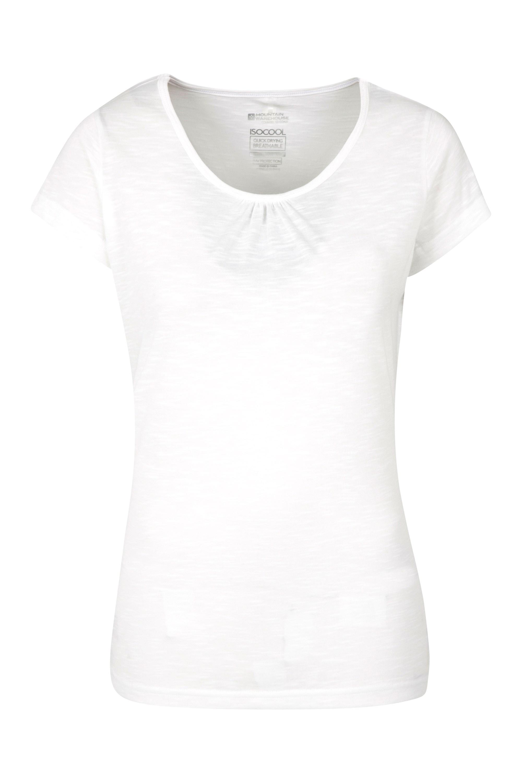 Agra Damen T-Shirt - Weiss