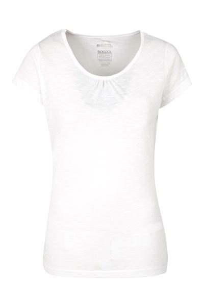 Agra Womens T-Shirt - White