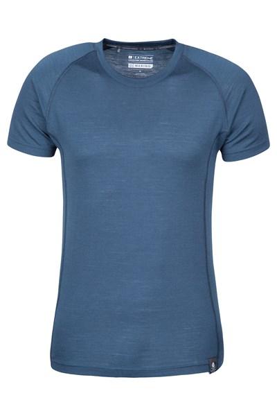 Summit Mens Merino T-Shirt - Navy