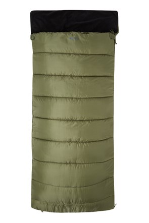 Sutherland Fleece Lined Fishing Style Sleeping Bag