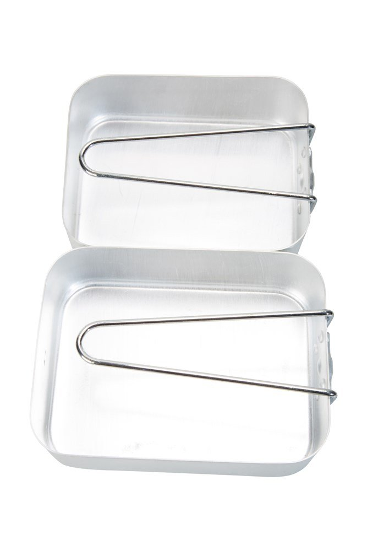 Camping Mess Tins - Silver