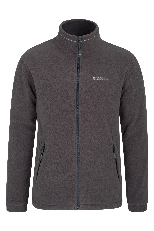 Bernard Mens Windproof Fleece - Grey