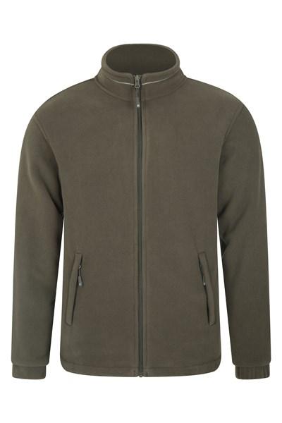 Bernard Mens Windproof Fleece - Green