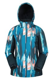 Dawn Womens Printed Ski Jacket