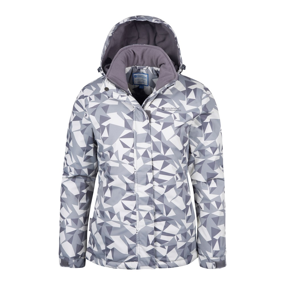 Mountain Warehouse Veste Ski Femme Femme Femme Doublé Polaire Sports Hiver Dawn 1bb2aa