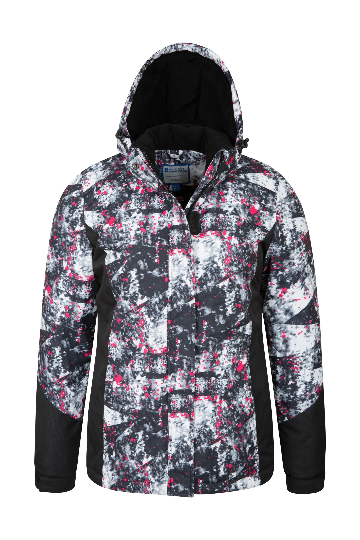 748e1736bcb2 Dawn Womens Printed Ski Jacket