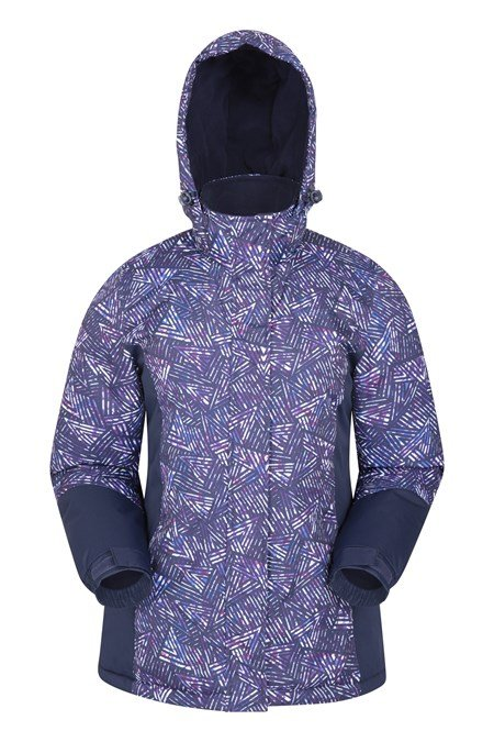 021914 DAWN PRINTED WOMENS SKI JACKET