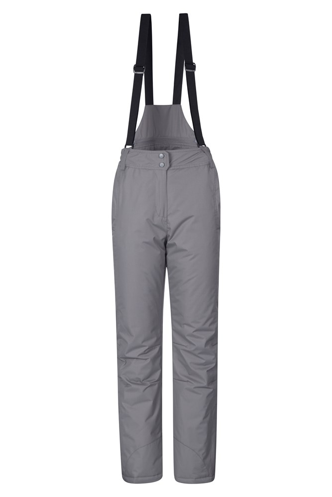 Moon Womens Ski Pants - Grey