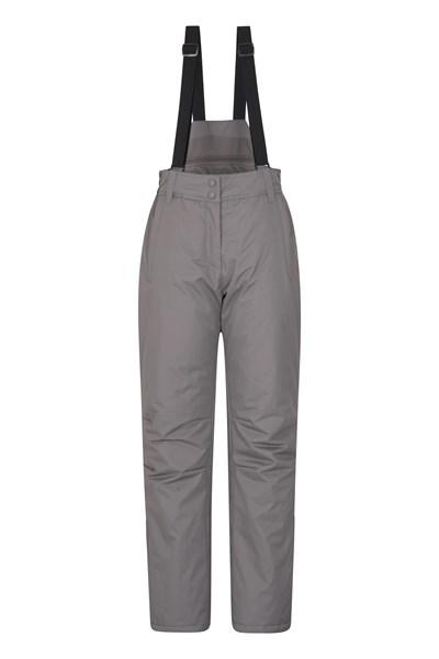 Moon Womens Ski Pants - Grey