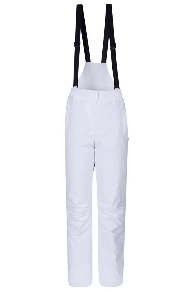 Moon Womens Ski Pants - White
