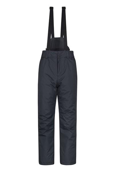 Dusk Mens Ski Pants - Black