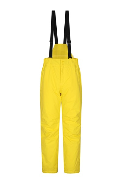 Dusk Mens Ski Pants - Yellow