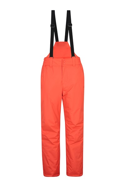 Dusk Mens Ski Pants - Orange