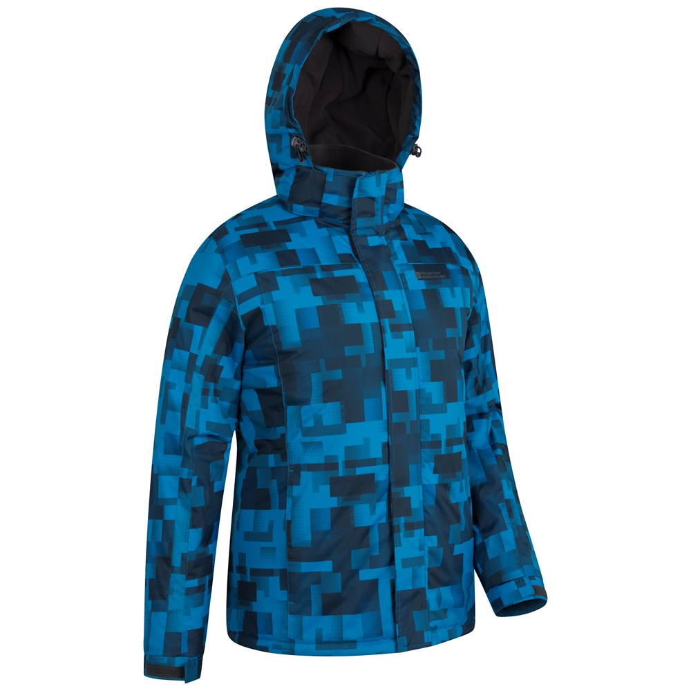 Mountain-Warehouse-Mens-Snowproof-Ski-Jacket-with-Insulated-and-Fleece-Lined thumbnail 6