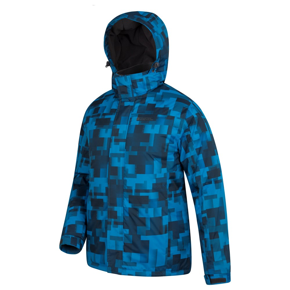 Mountain-Warehouse-Mens-Snowproof-Ski-Jacket-with-Insulated-and-Fleece-Lined thumbnail 7