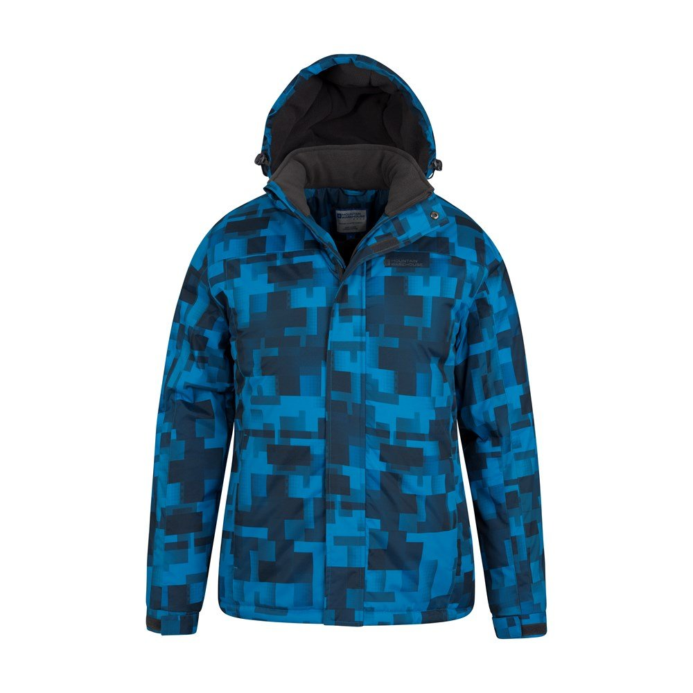 Mountain-Warehouse-Mens-Snowproof-Ski-Jacket-with-Insulated-and-Fleece-Lined thumbnail 8