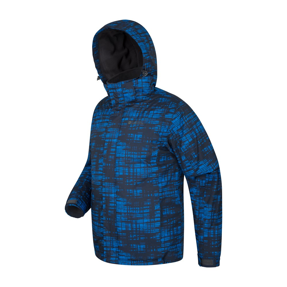 Mountain-Warehouse-Mens-Snowproof-Ski-Jacket-with-Insulated-and-Fleece-Lined thumbnail 15