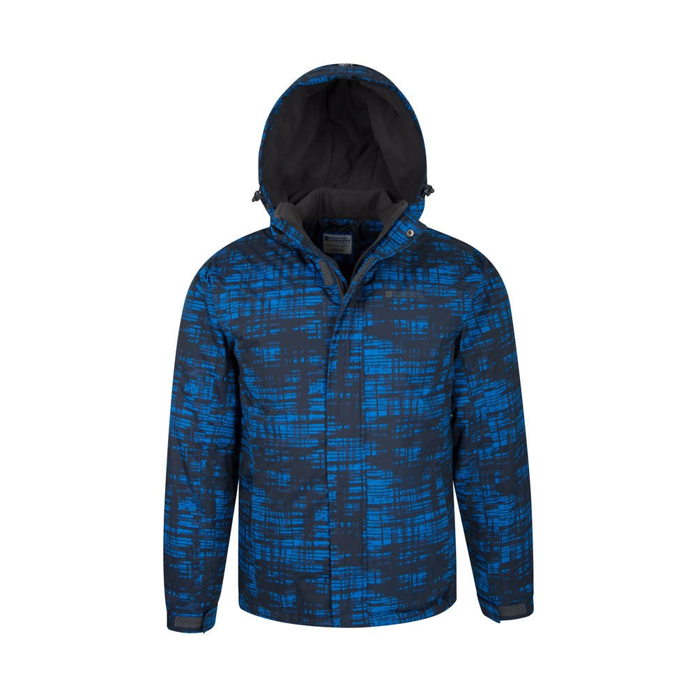 Mountain-Warehouse-Mens-Snowproof-Ski-Jacket-with-Insulated-and-Fleece-Lined thumbnail 16