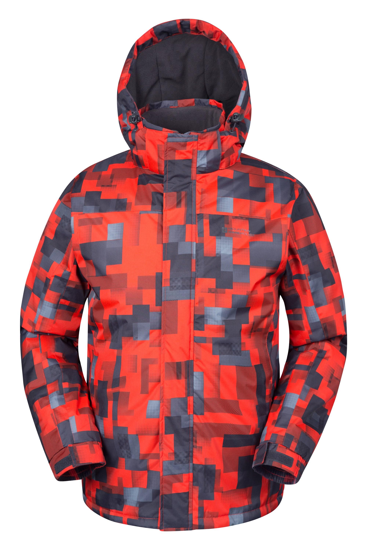 25e137f92a19 Shadow Mens Printed Ski Jacket   Mountain Warehouse US