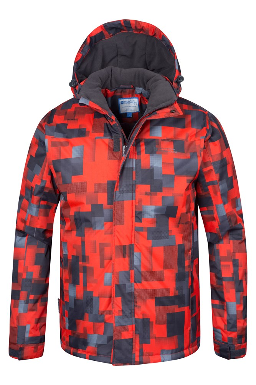 9fc7157480d7a2 Shadow Mens Printed Ski Jacket | Mountain Warehouse US
