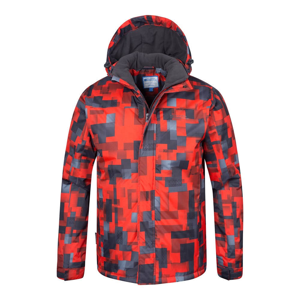 Mountain-Warehouse-Mens-Snowproof-Ski-Jacket-with-Insulated-and-Fleece-Lined thumbnail 24