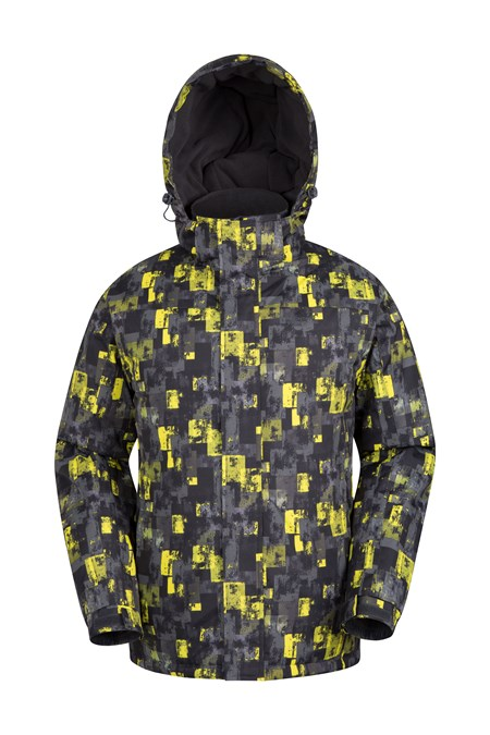 021917 SHADOW  PRINTED SKI JACKET