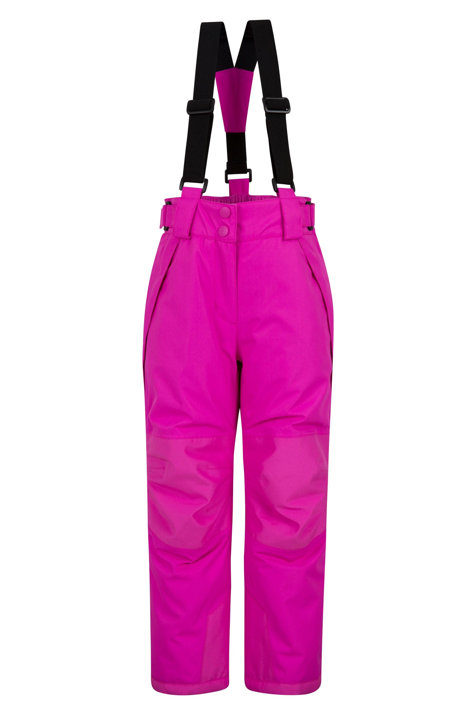 Falcon Extreme Kids Ski Pants - Pink