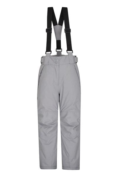 Falcon Extreme Kids Ski Pants - Grey