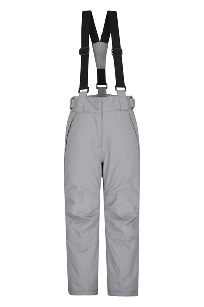 Falcon Extreme Kids Ski Pants - Grey