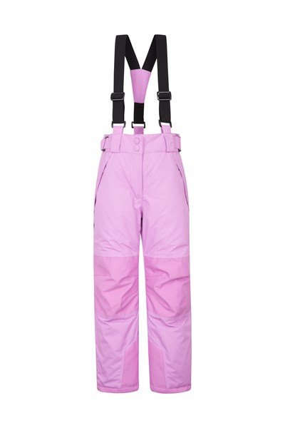 Falcon Extreme Kids Ski Pants - Light Purple