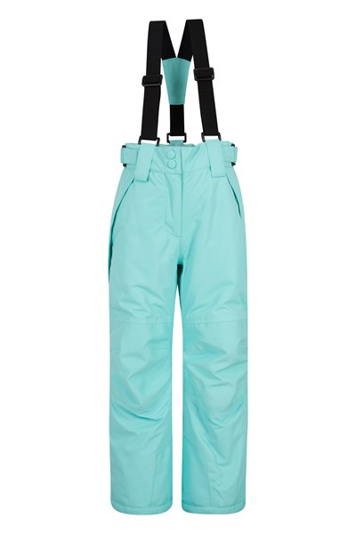 Falcon Extreme Kids Ski Pants - Green