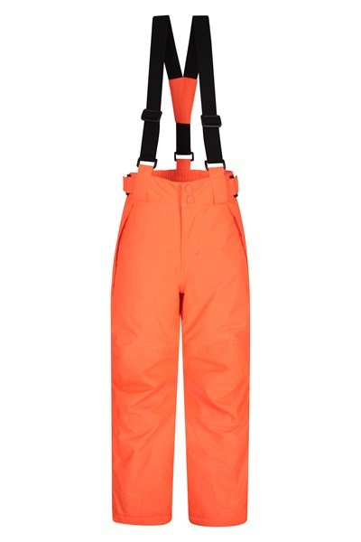 Falcon Extreme Kids Ski Pants - Orange