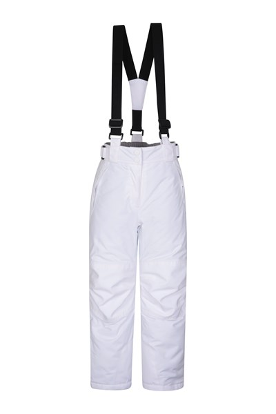 Falcon Extreme Kids Ski Pants - White