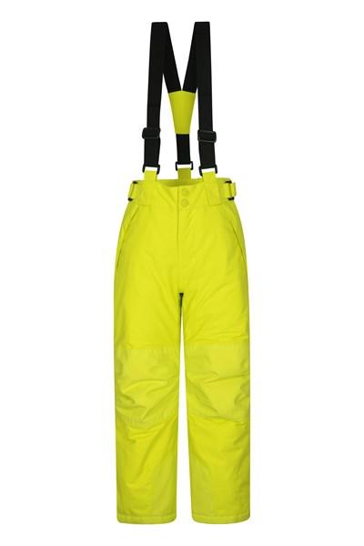 Falcon Extreme Kids Ski Pants - Yellow