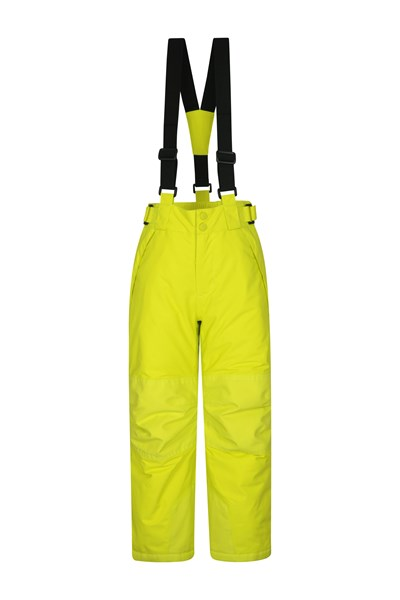 Falcon Extreme Kids Ski Pants - Yellow