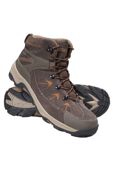 Prospect Mens Waterproof Softshell Boots - Orange