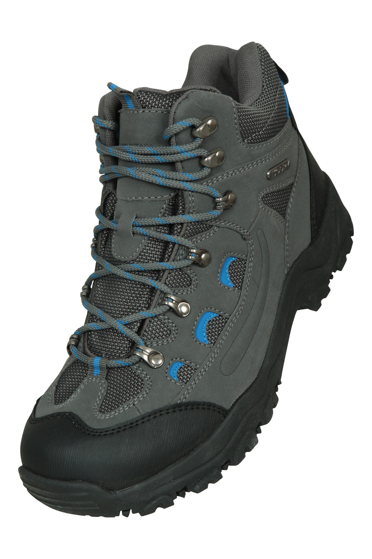 Semelle coussin/ée Mountain Warehouse Chaussures de randonn/ée Adventurer imperm/éables pour Femme Robustes et Respirantes Tige en synth/étique et Doublure en Filet