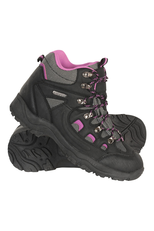 adventurer womens waterproof boots black