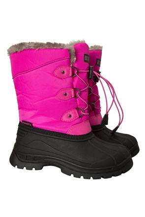 bef510ae3 Kids Snow Boots | Boys & Girls Snow Boots | Mountain Warehouse AU