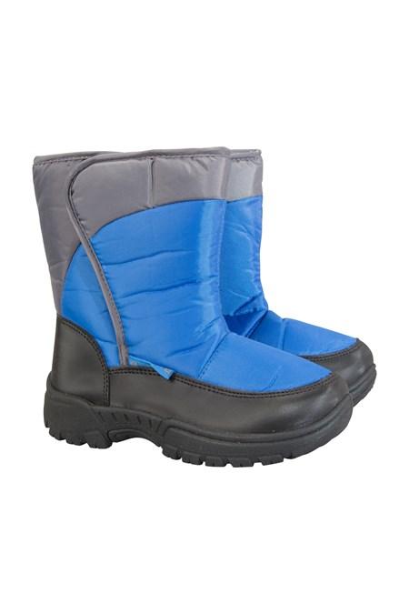 021971 CARIBOU SINGLE STRIPE KIDS SNOW BOOT