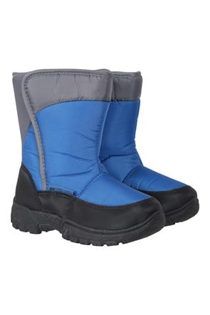 Kids Caribou Single Stripe Snow Boot