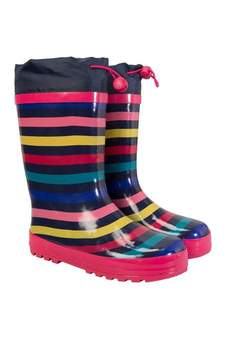 021980 RAINBOW WINTER KIDS WELLY
