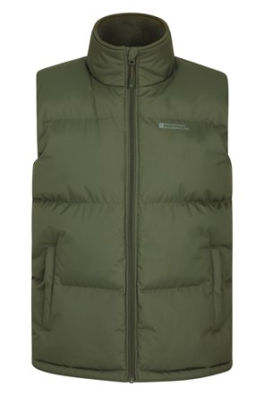 Rock Mens Padded Gilet