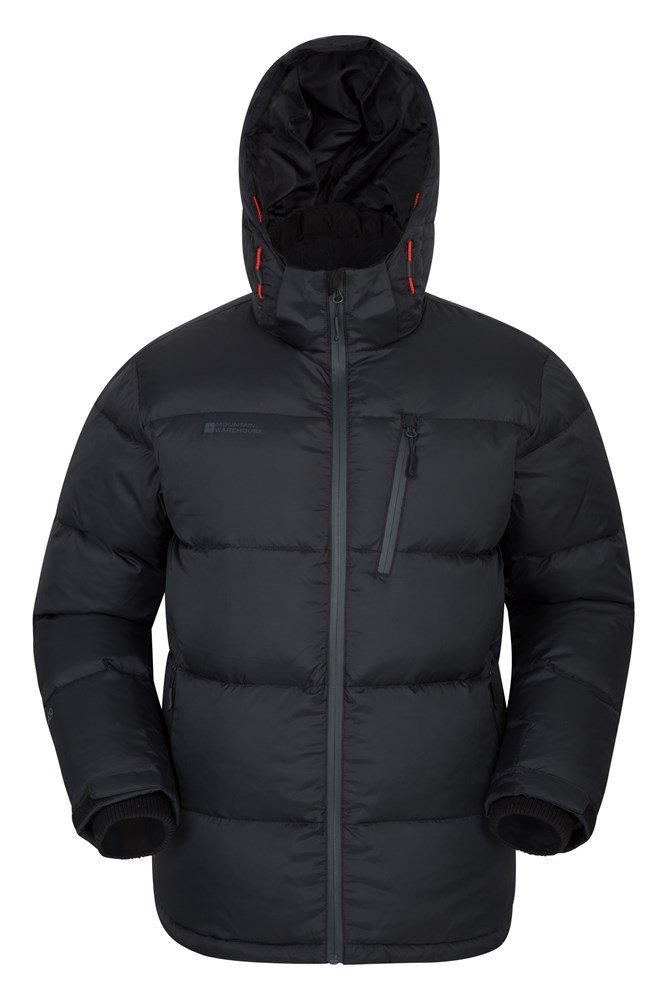 Frost Extreme Mens Down Padded Jacket - Black